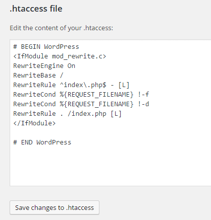 yoast htaccess